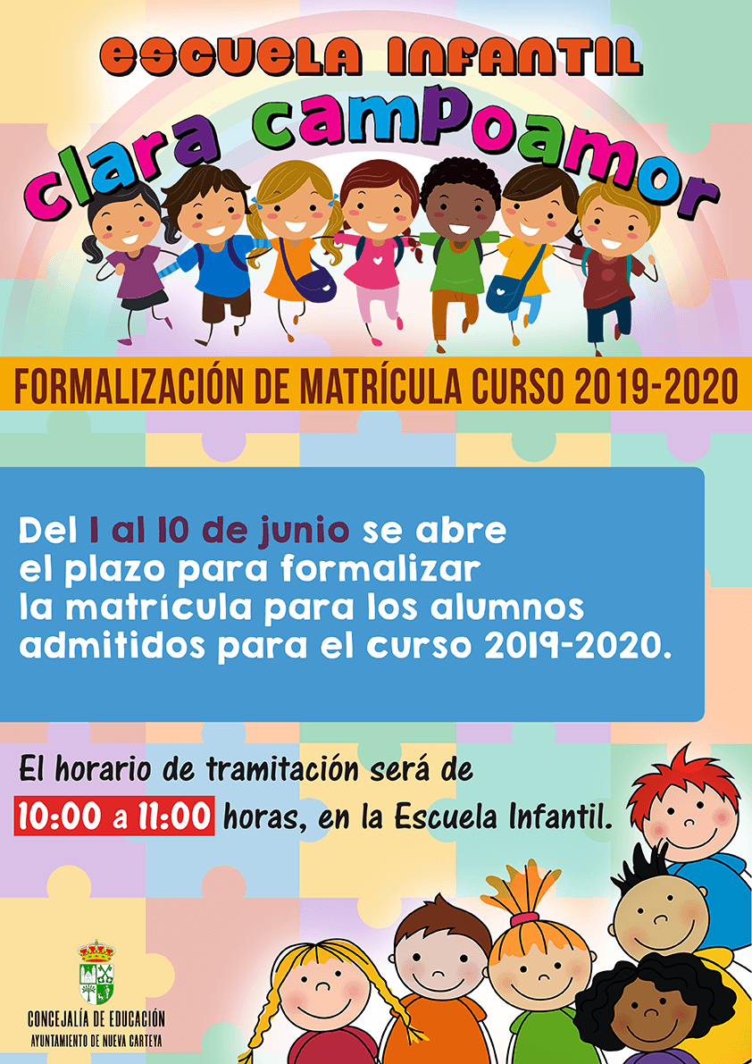 cartel_matricula_guardería_2019